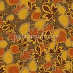 Blätter Erinnern Sich Nahtloses Muster