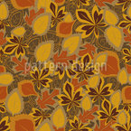 Leaves Remember Seamless Vector Pattern Design