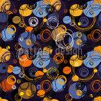 Kreis Bewegung Nahtloses Vektor Muster