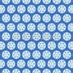 Tiny Snowflakes Seamless Vector Pattern Design