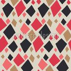 Scherenschnitt Karos Muster Design