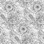 Big Chrysanthemum Pattern Design