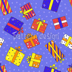 My Gifts For You Seamless Vector Pattern Design