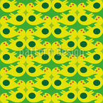 Fantasy Construct Seamless Vector Pattern