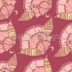 Paisley-Blumen Nahtloses Vektormuster