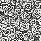 Adorned With Roses Repeating Pattern