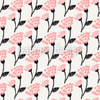 Vintage Blossom Seamless Vector Pattern Design