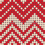 Dotted Chevron Seamless Pattern