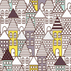 A Town For Everyone Repeat Pattern