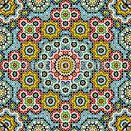 Beauty From Rabat Seamless Vector Pattern Design