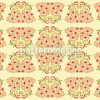Bamboo Beige Seamless Vector Pattern Design