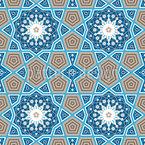 Schönheit Von Marokko Nahtloses Vektormuster