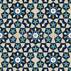 Marokkanisches Stern Mosaik Nahtloses Vektormuster
