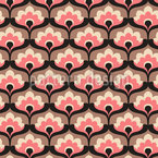 A Floral Blessing Seamless Vector Pattern Design