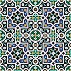 Geometrische Arabesken Nahtloses Vektormuster