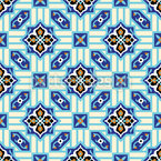 Medieval Time Travel Repeat Pattern