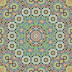 Marokkanischer Komplex Nahtloses Vektormuster