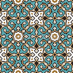 Arabesque con clase Estampado Vectorial Sin Costura