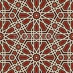 Mittelalterliche Intarsien Nahtloses Vektormuster