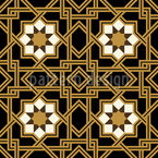 Interlocking Star Seamless Pattern