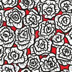 Covered With Roses Repeat Pattern
