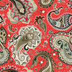 Paisley Splendor Seamless Vector Pattern Design