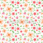 Flower Fragrance Repeating Pattern