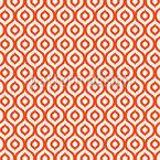 Culto Ogee Design de padrão vetorial sem costura