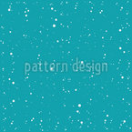 Winter Evening Seamless Vector Pattern
