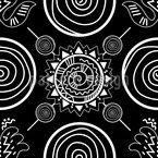 Ethnisch Abstrakt Vektor Design