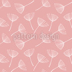 Delicate Dandelion Seed Seamless Vector Pattern Design