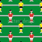 Fußball Von Der Stange Vektor Muster
