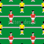 Table Soccer Vector Pattern