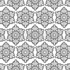 Schneeflocken Einfachheit Musterdesign
