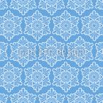 Spitzen Schneeflocken Einfachheit Designmuster