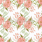 Ornate Roses Seamless Pattern