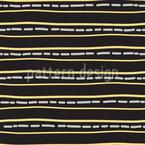 Kontinuierliche Streifen Vektor Muster
