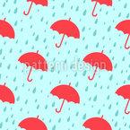 Regenschirm Tag Nahtloses Vektormuster