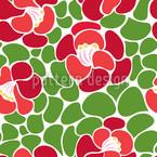 Frühlingsblätter Nahtloses Vektor Muster