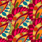 Crazy Flowerbed Seamless Vector Pattern Design