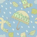 Regenwetter-Kleidung Rapportmuster
