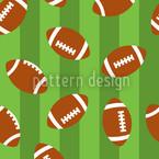 Football Green Vector Pattern