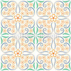 Floral Tendril Pattern Design