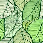 Blätterbad Vektor Muster