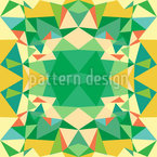Polygon-Kaleidoskop Muster Design