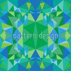Wasser-Kaleidoskop Designmuster