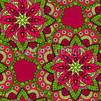 Cordial Mandala Seamless Vector Pattern Design