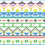 Made With Love Seamless Vector Pattern Design