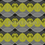 Empirial Harmony Seamless Vector Pattern Design
