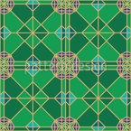 Rasen Geometrie Designmuster